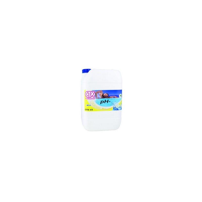 Ph moins liquide ctx 15 20l for Ph moins liquide