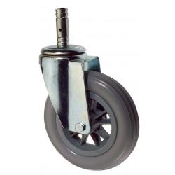 Roue chariot spéciale éxtérieur 125mm
