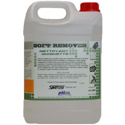 Soft Remover détachant moquette 5L