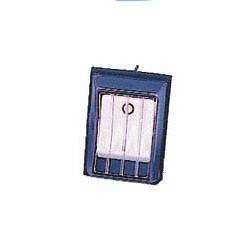 Interrupteur marche-arrêt blanc eau et poussières