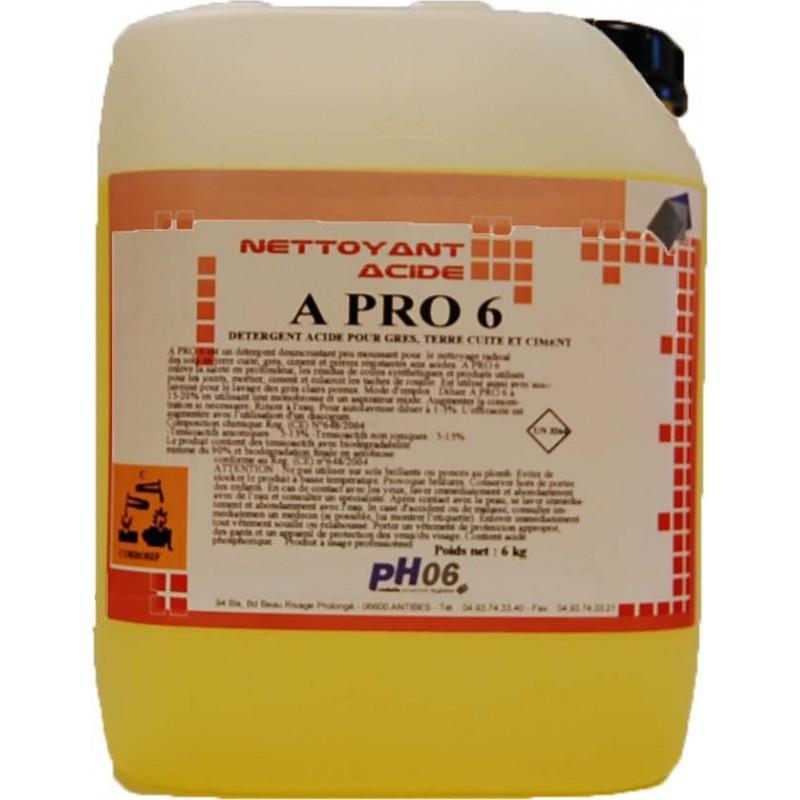 A Pro 6 nettoyant acide 5L