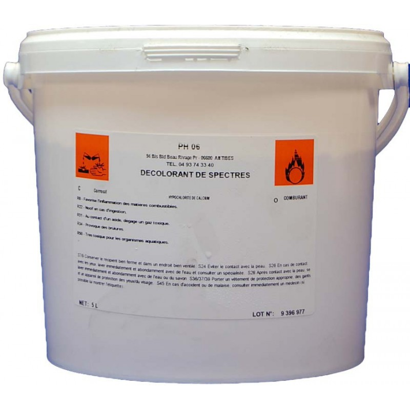 Décolorant de spectres anti-graffiti 5kg