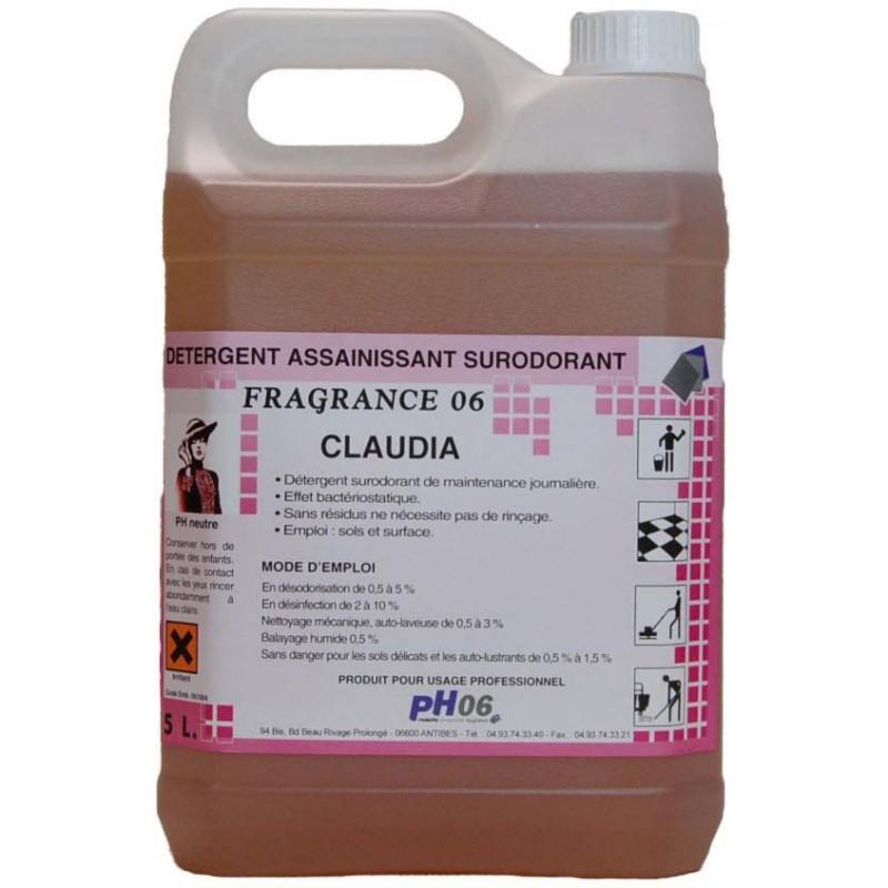 Fragrance 06 claudia détergent surodorant 5L