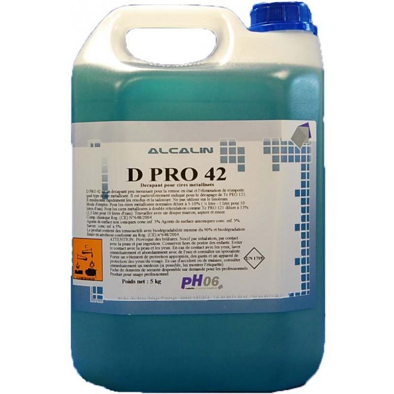 D Pro 42 décapant surpuissant pour émulsions et Cires 5L