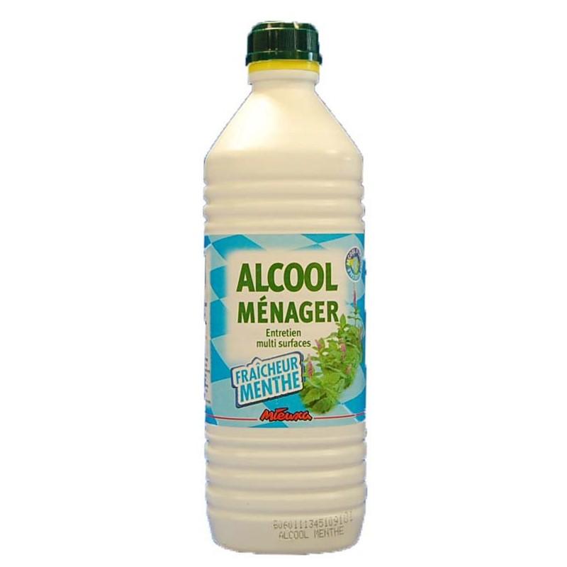 ALCOOL MENAGER 1L MENTHE