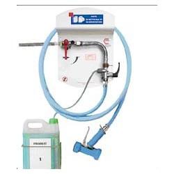 Centrale de nettoyage et de désinfection 1 bouton tuyau 25m