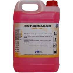 Superclean détergent sols neutre concentré 5L