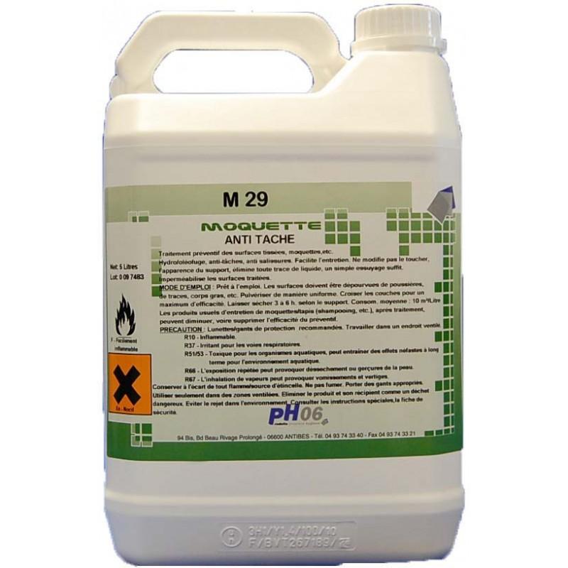 M Pro 29 protection moquette et textiles d'ameublement 5L