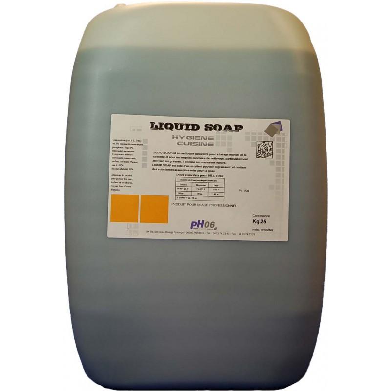 DETERGENT PLONGE LIQUID SOAP 25L