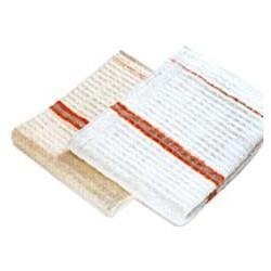 Serpillière gaufrée blanche QS 60x100