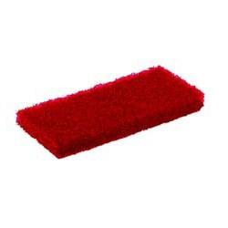 Tampon abrasif rouge épais 120 x 250