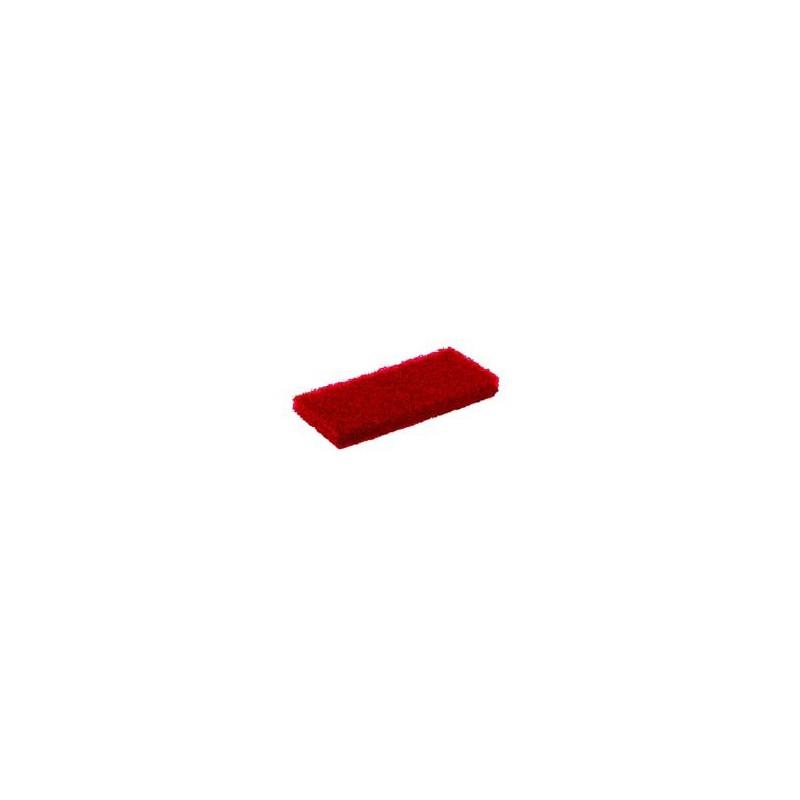 TAMPON ABRASIF ROUGE EPAIS 120x250