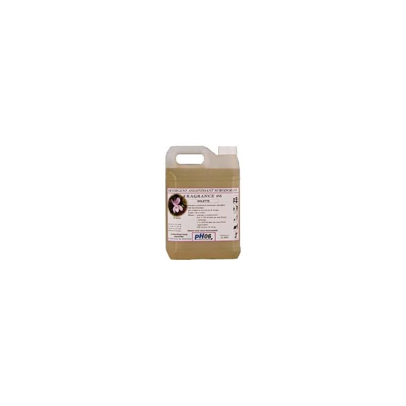 Fragrance 06 violette détergent surodorant 5L