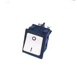Interrupteur marche-arrêt box blanc