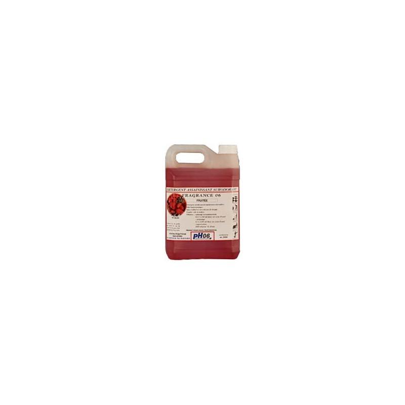 Fragrance 06 fruitée détergent surodorant 5L