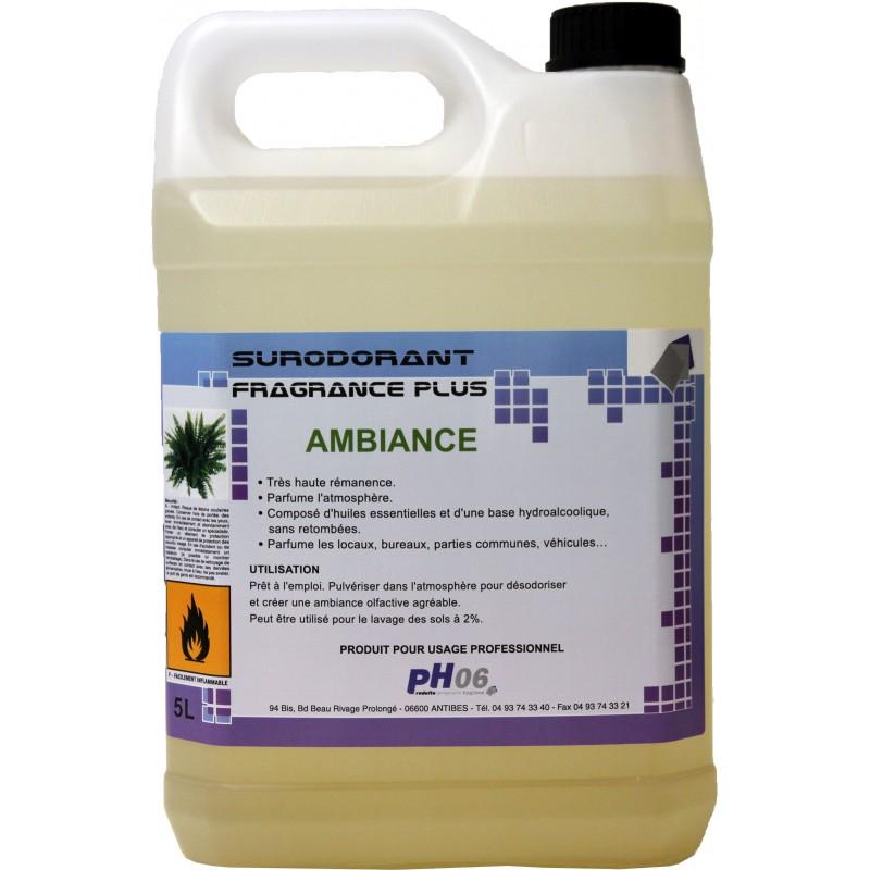 Fragrance Plus ambiance parfum d'ambiance trés rémanent 5L