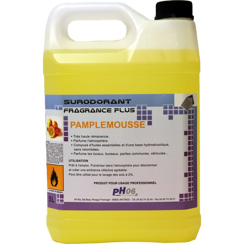FRAGRANCE PLUS PAMPLEMOUSSE 5L