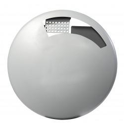 Cendrier mural disco étouffoir gris 1.5L