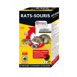 Raticide souricide pate Miriad 800g