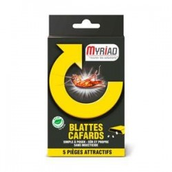 Piége attractif blattes-cafards x5