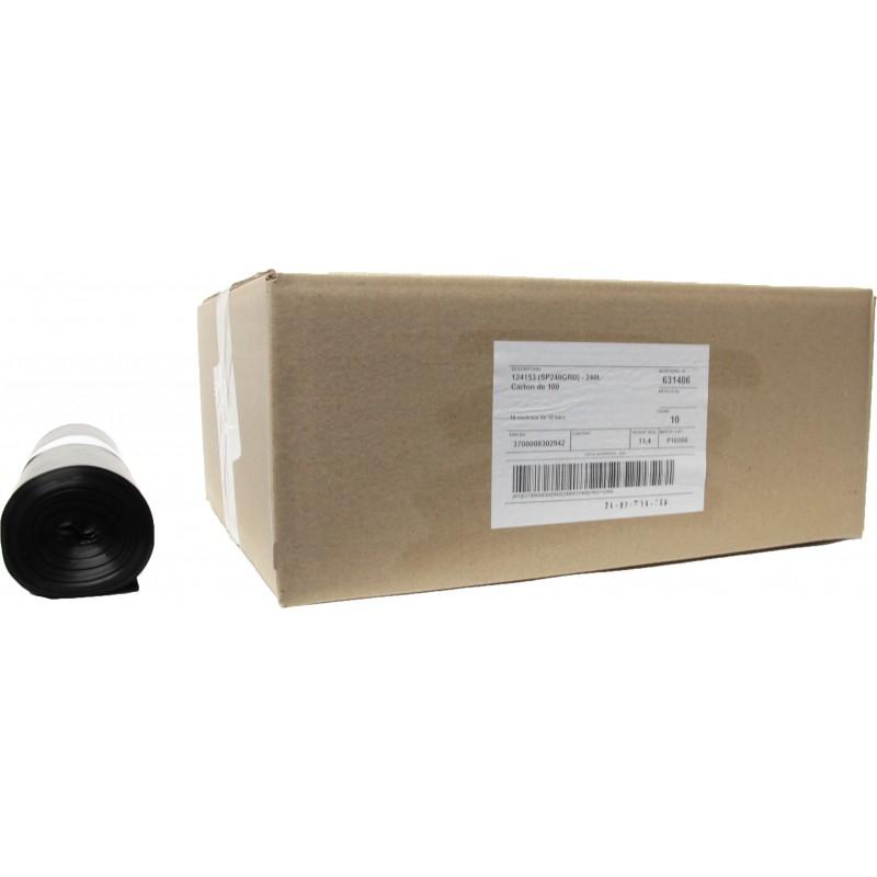Sacs conteneur 240L noir 40µ (x100)