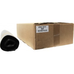 Sacs poubelles 200L noir (x100)
