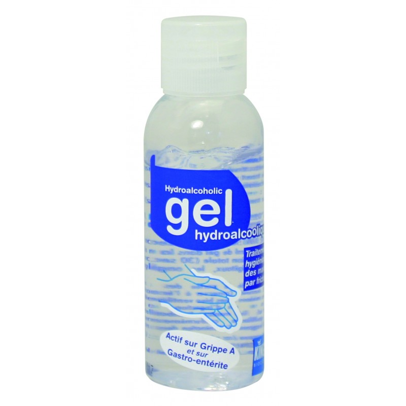 Gel Mains Décontaminant Hydro Alcool 50ml