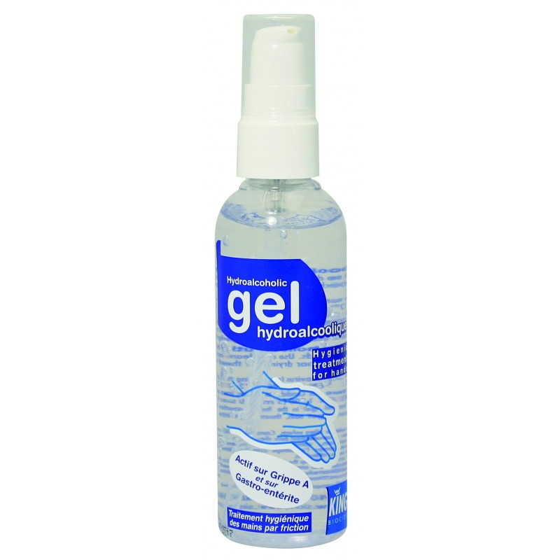 Gel Mains Décontaminant Hydro Alcool 100ml