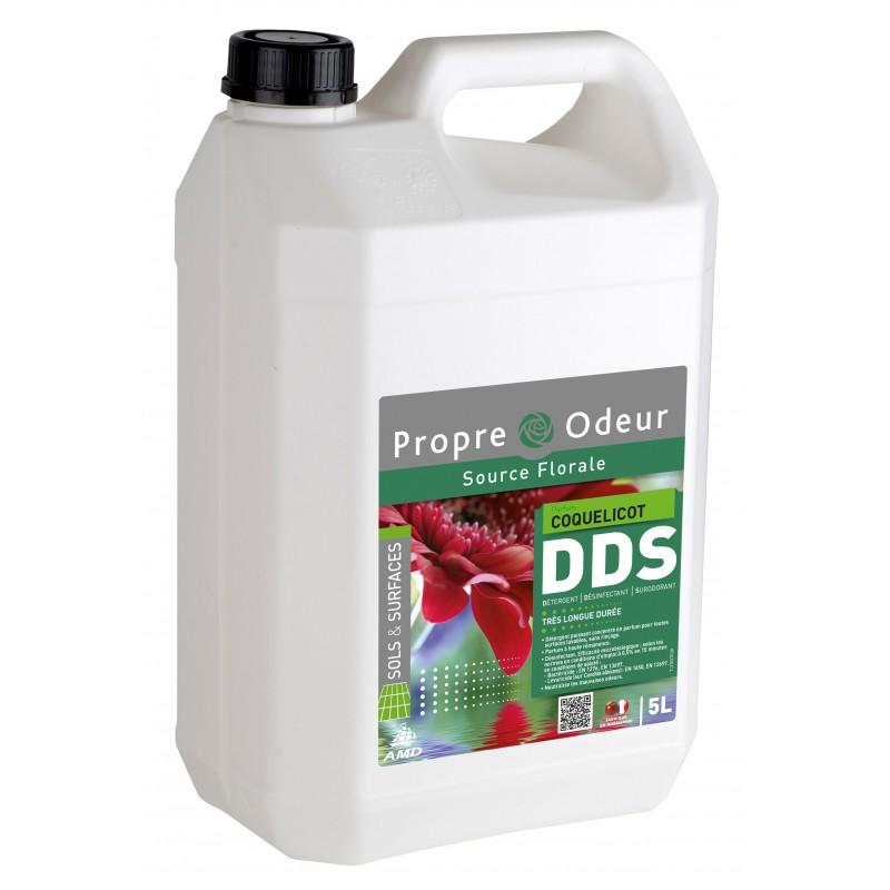 DDS Coquelicot Détergent surodorant bactéricide 5L