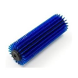 Brosse dure d'escalator bleu Multiwash 340mm (x2)