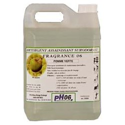Fragrance 06 pomme verte détergent surodorant 5L