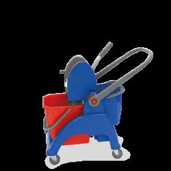 Chariot lavage rilsan sky compact 1x25L + 1x12L + presse
