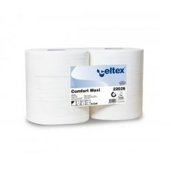 Papier hygiénique T 400M confort écolabel 2P pure ouate  9.2x18 (x6)