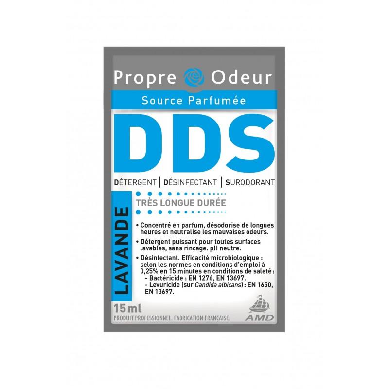 DDS lavande détergent surodorant bactéricide dose 15ml x250