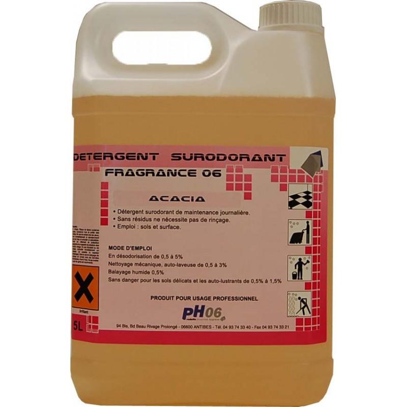 Fragrance 06 acacia détergent surodorant 5L