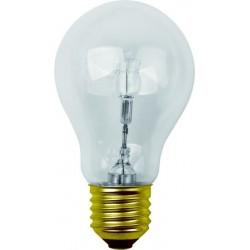 Ampoule standard claire halogène e27 57w 240v classe C