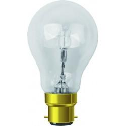 Ampoule standard claire halogène b22 46w 240v classe C
