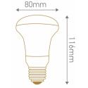 SPOT REFLEC D80 / E27 - 100W