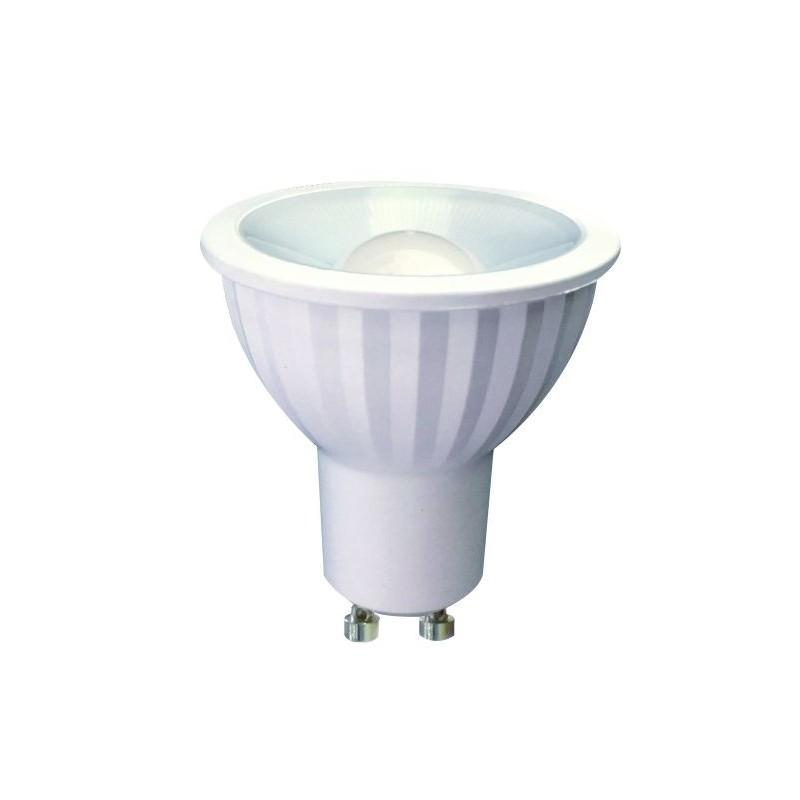 Lampe spot GU10 led 100° 7W 4000k 220v 50mm