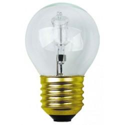 Lampe sphérique claire halogène e27 30w 240v