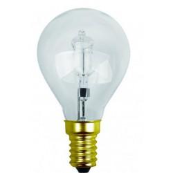 Lampe sphérique claire halogène e14 46w 240v
