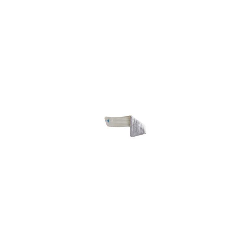 Frange lavage microfibre trapéze blanche 40cm