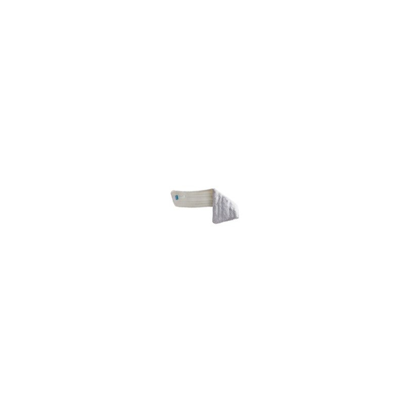 Frange lavage microfibre trapèze blanche 60cm