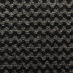 Tapis nomad aqua 65 noir 0.91x1.52