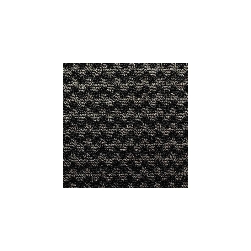Tapis nomad aqua 65 noir 0.90x1.50