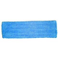 Frange lavage microfibre trapèze superglisse bleu 40cm