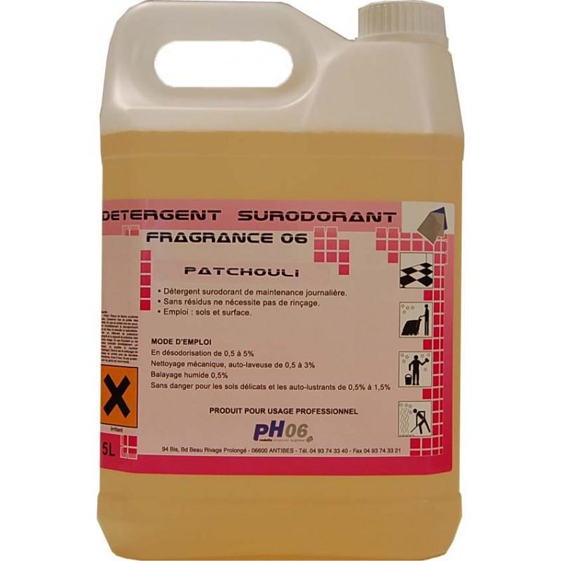 Fragrance 06 patchouli détergent surodorant 5L