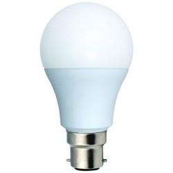 Ampoule standard led ecowatt B22 9w 240v 2700k