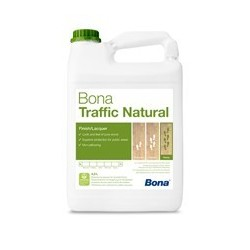 Traffic HD natural Bona vitrificateur bi-composant en phase aqueuse 5L
