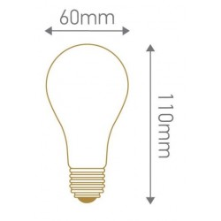Ampoule standard led ecowatt E27 9w 240v 4000k